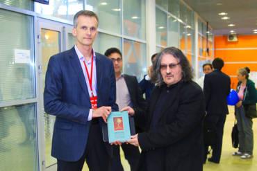 Презентация книги «Персия: История неоткрытой страны» в Московской международной книжной выставки-ярмарки 2016.