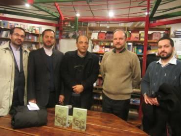 Встреча читателей с Мохаммадом Резой Байрами в культурном центре Белые Облака