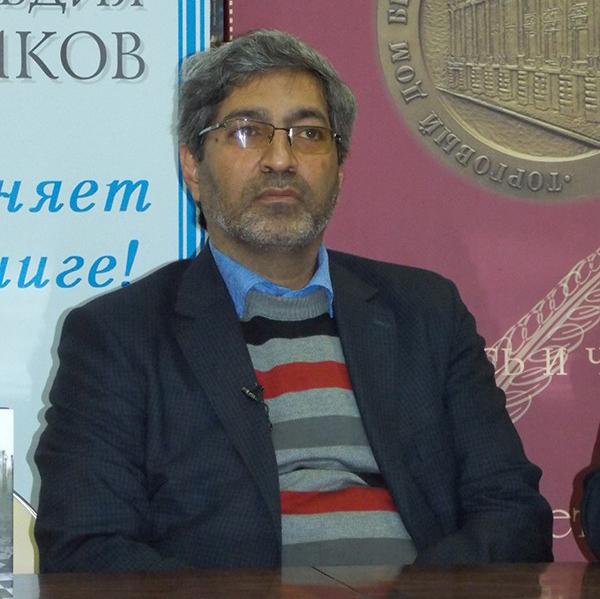 Встреча Хабиба Ахмад-заде с московскими читателями