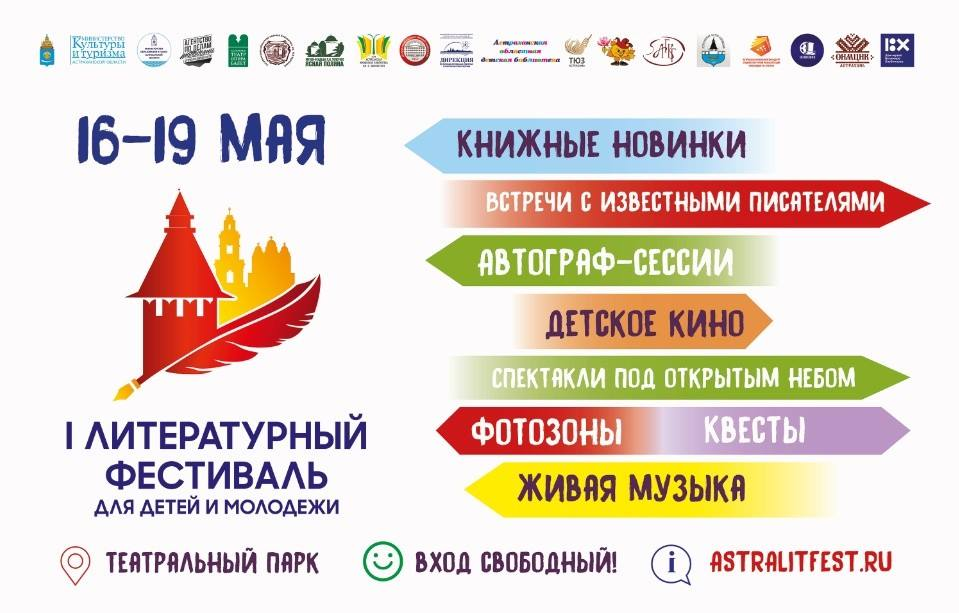 I международный фестиваль для детей и молодежи в Астраханской области